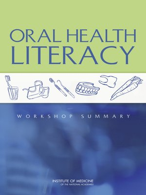 cover image of Oral Health Literacy