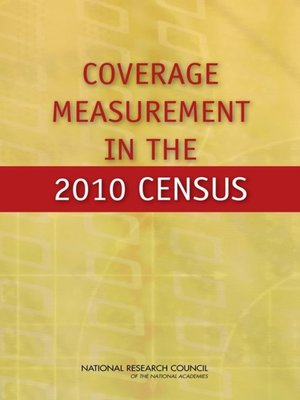 cover image of Coverage Measurement in the 2010 Census