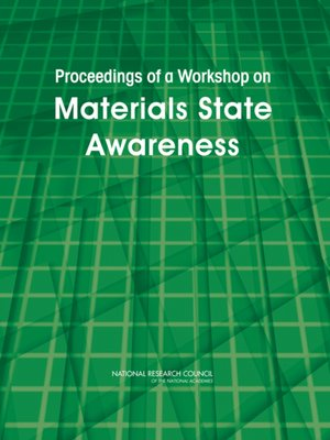 cover image of Proceedings of a Workshop on Materials State Awareness