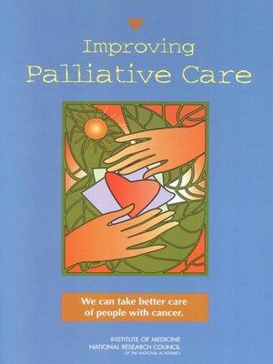 cover image of Improving Palliative Care