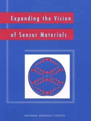 cover image of Expanding the Vision of Sensor Materials