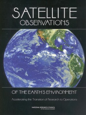 cover image of Satellite Observations of the Earth's Environment