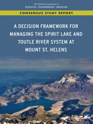 cover image of A Decision Framework for Managing the Spirit Lake and Toutle River System at Mount St. Helens