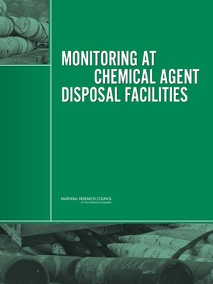cover image of Monitoring at Chemical Agent Disposal Facilities