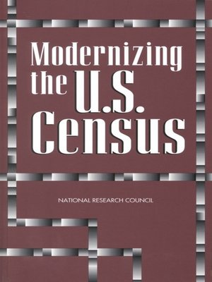 cover image of Modernizing the U.S. Census