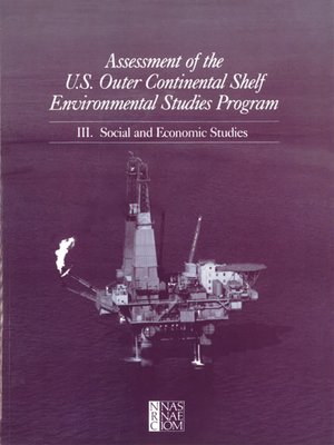 cover image of Assessment of the U.S. Outer Continental Shelf Environmental Studies Program, Volume 3