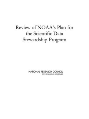 cover image of Review of NOAA's Plan for the Scientific Data Stewardship Program