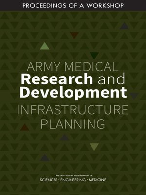 cover image of Army Medical Research and Development Infrastructure Planning