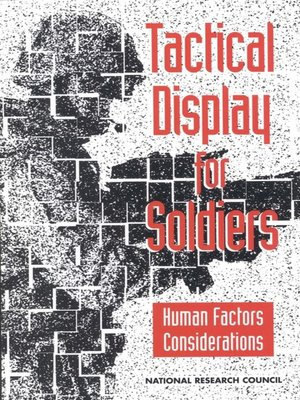 cover image of Tactical Display for Soldiers