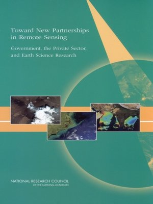 cover image of Toward New Partnerships In Remote Sensing