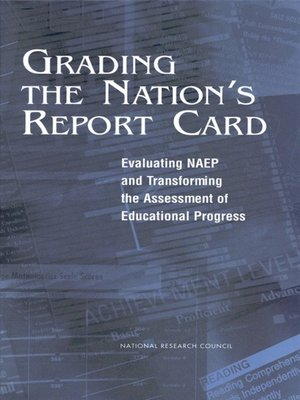 cover image of Grading the Nation's Report Card