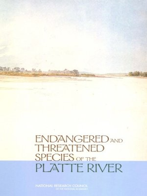 cover image of Endangered and Threatened Species of the Platte River