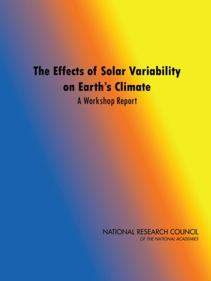 cover image of The Effects of Solar Variability on Earth's Climate