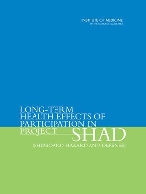 cover image of Long-Term Health Effects of Participation in Project SHAD (Shipboard Hazard and Defense)