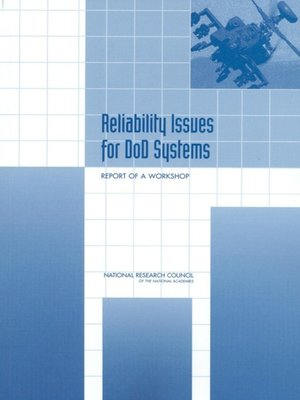 cover image of Reliability Issues for DOD Systems
