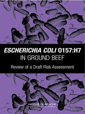 cover image of Escherichia coli O157