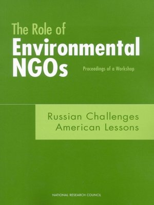 cover image of The Role of Environmental NGOs