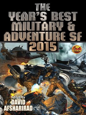 cover image of The Year's Best Military and Adventure SF 2015