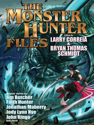 cover image of The Monster Hunter Files