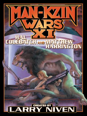 cover image of Man-Kzin Wars XI