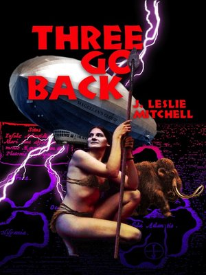 cover image of Three Go Back