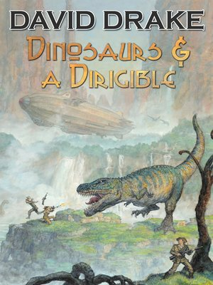 cover image of Dinosaurs & A Dirigible