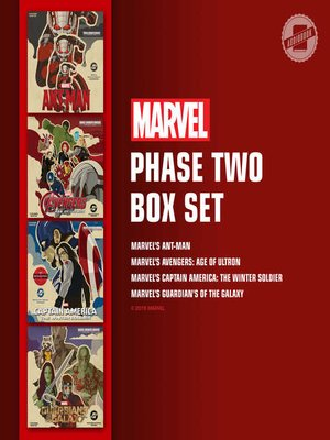 cover image of Marvel's Phase Two Box Set