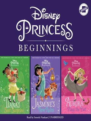 cover image of Jasmine, Tiana & Aurora