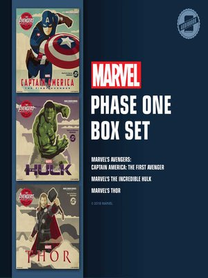 cover image of Marvel's Phase One Box Set