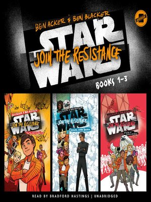 cover image of Star Wars: Join the Resistance, Books 1-3