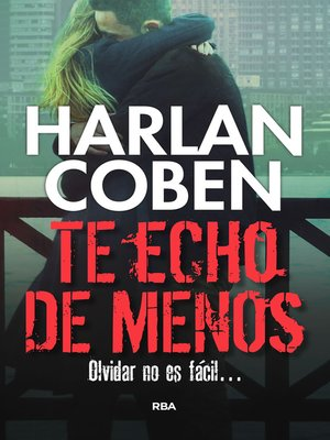 cover image of Te echo de menos