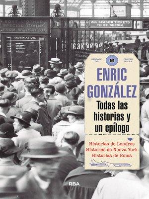 cover image of Todas las historias y un epílogo