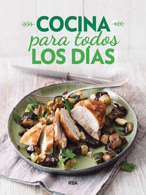 cover image of Cocina para todos los días