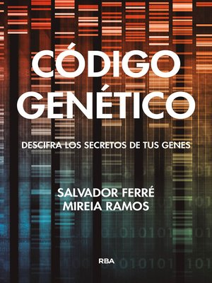 cover image of Código genético