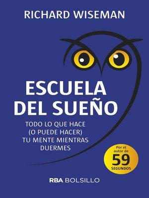 cover image of Escuela del sueño