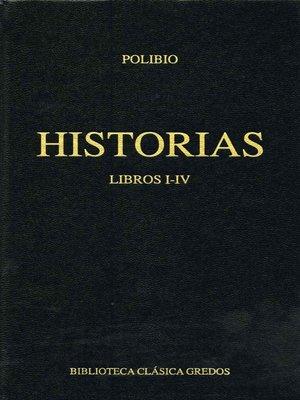 cover image of Historias. Libros I-IV