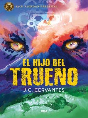 cover image of El hijo del trueno