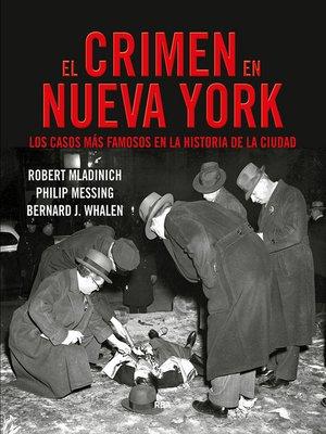 cover image of El crimen en Nueva York