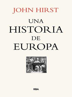 cover image of Una historia de Europa