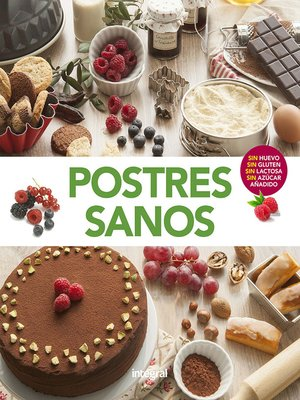 cover image of Postres sanos