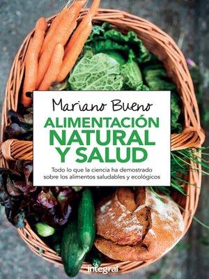 cover image of Alimentación natural y salud
