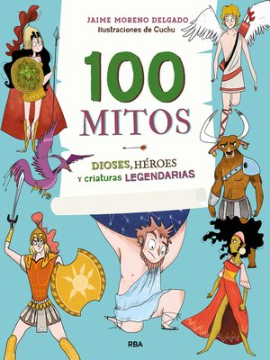 cover image of 100 mitos