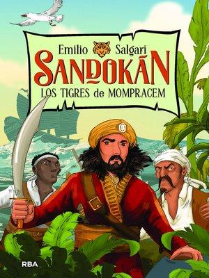 cover image of Sandokán 1. Los tigres de Mompracem