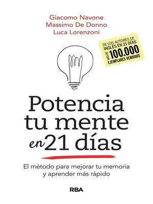 cover image of Potencia tu mente en 21 días
