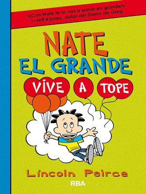 cover image of Nate el Grande. Vive a tope