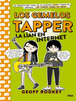 cover image of Los gemelos Tapper la lían en Internet