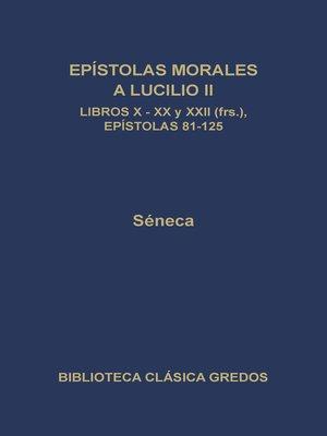 cover image of Obras morales y de costumbres (Moralia) VIII