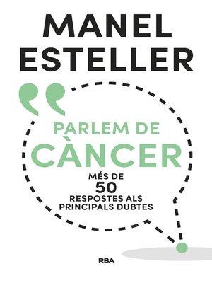 cover image of Parlem de càncer