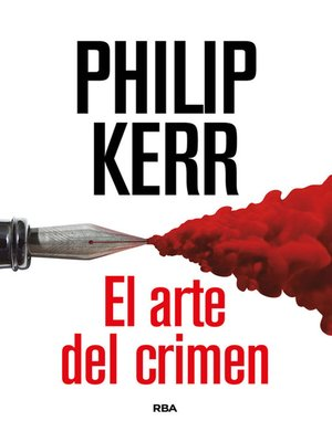 cover image of El arte del crimen
