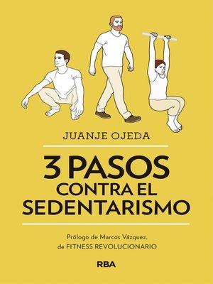 cover image of 3 pasos contra el sedentarismo